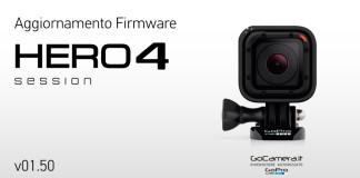 Aggiornamento GoPro HERO 4 Session Vers.1.50