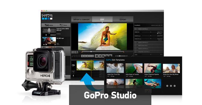 Aggiornamento HERO4 con GoPro Studio