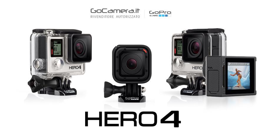 Differenze GoPro HERO4