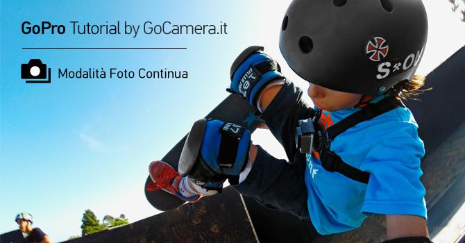 GoPro modalità Foto Continua