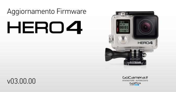 Aggiornamento GoPro HERO4 Versione 3.0