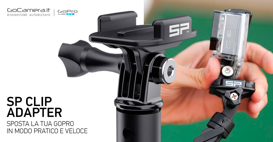 SP Clip Adapter per GoPro