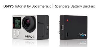 Ricarica BacPac GoPro