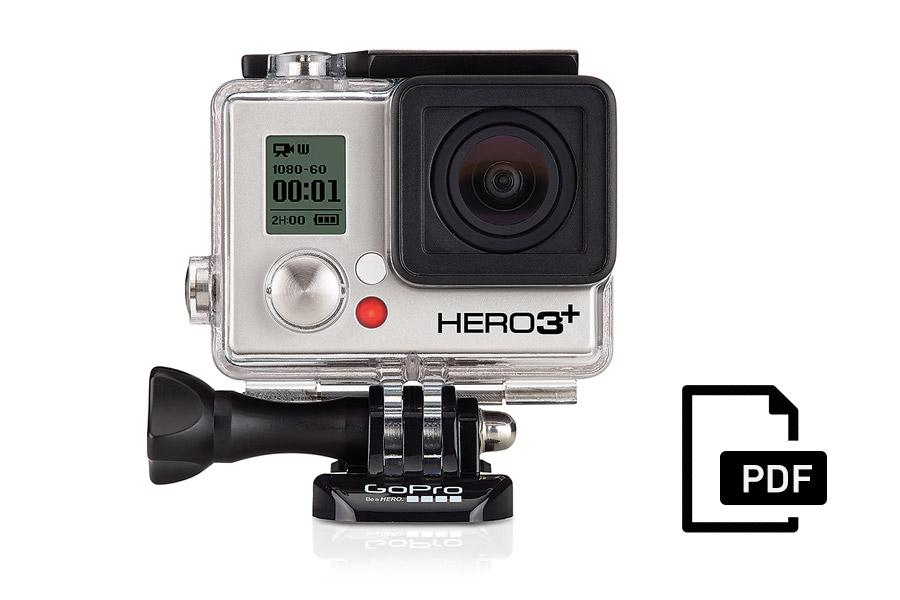 Manuale GoPro HERO3+ Black