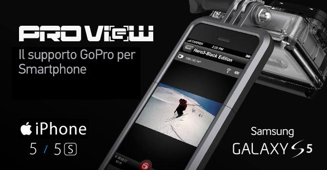 custodia iphone 6 attacco go pro