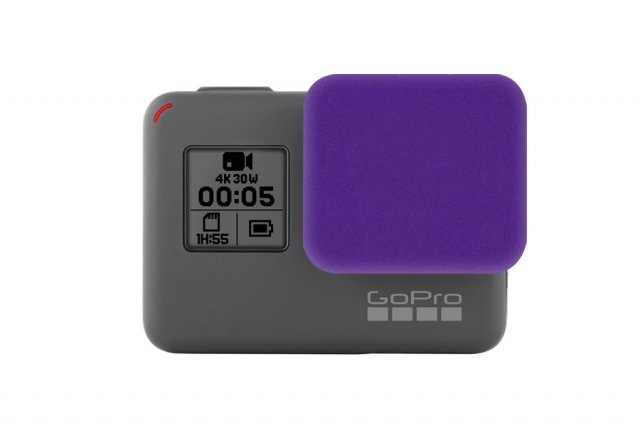 GoCamera Bumper Cap Purple per GoPro HERO5 Black