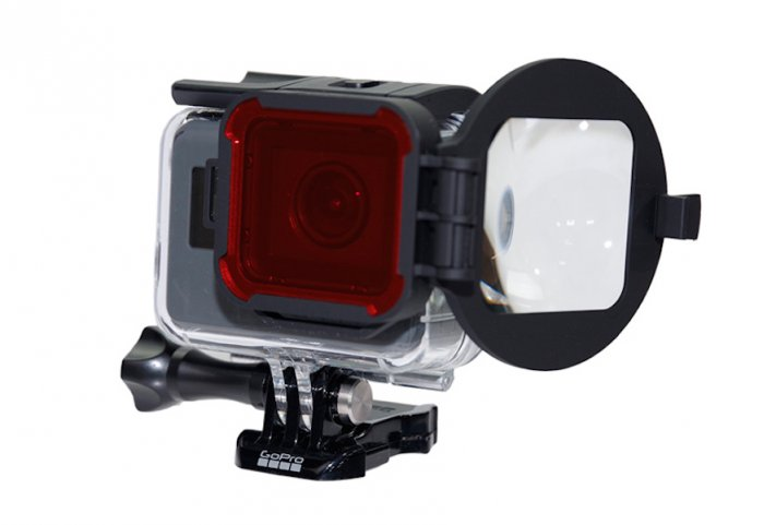 PolarPro Filtro Rosso Macro per HERO6/HERO5 Black Super Suit