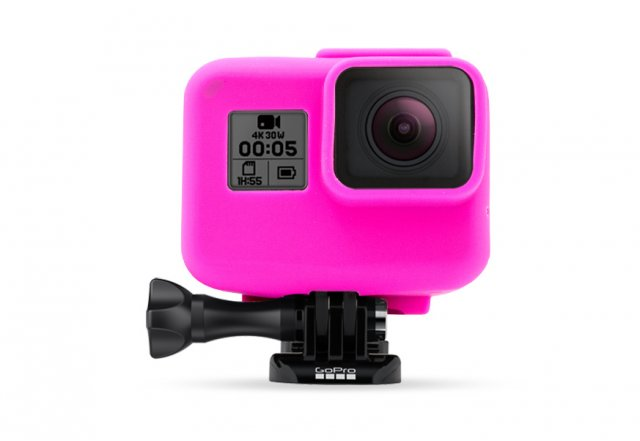 GoCamera Bumper Cover Pink per GoPro HERO5 Black The Frame