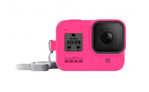 GoPro Sleeve guaina in silicone per HERO8 Black - Electric Pink