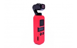 GoCamera Bumper Cover per DJI Osmo Pocket - Red