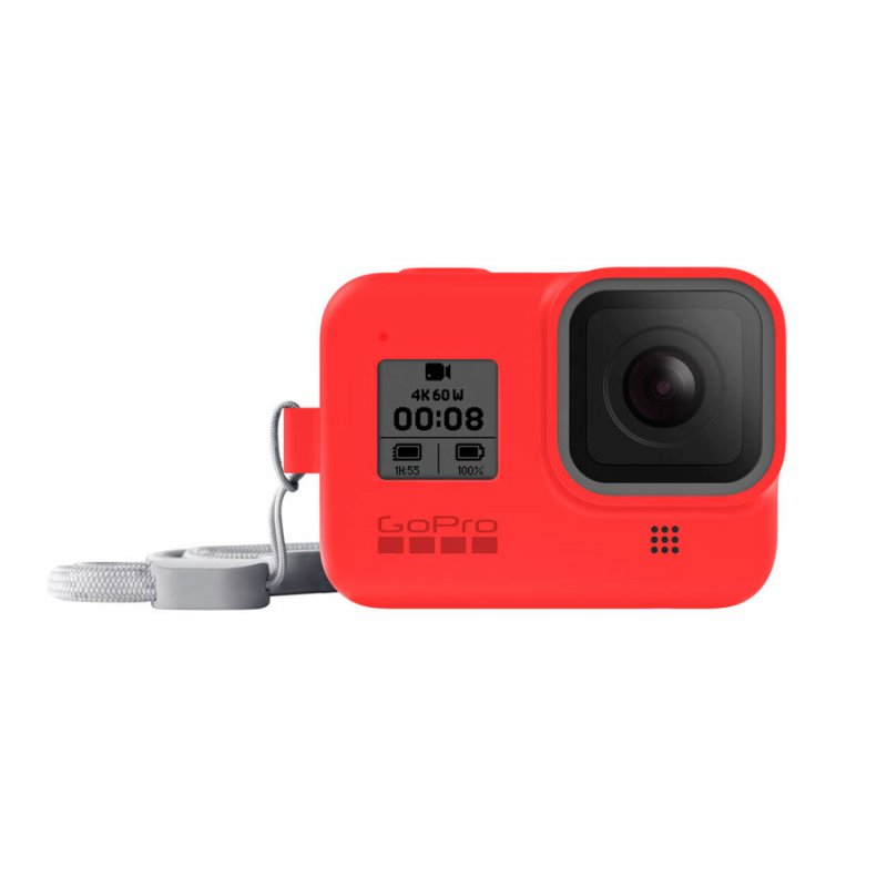 GoPro Sleeve guaina per HERO8 Black - Firecracker Red