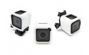 GoCamera Bumper Cover Kit White per GoPro Session