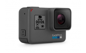 GoPro HERO6 Black + Jaws Flex (Renewed)
