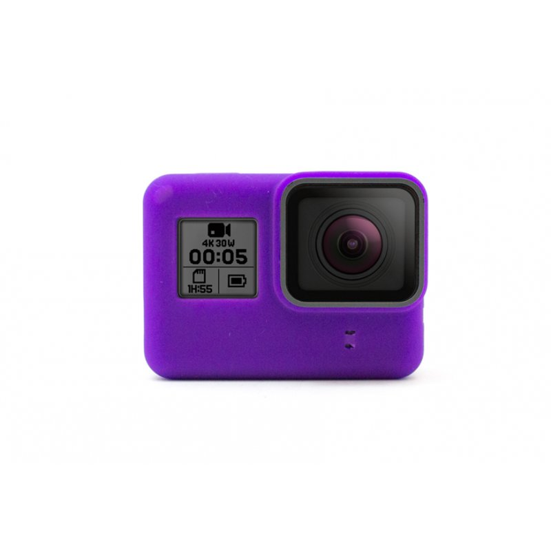 GoCamera Bumper Purple per GoPro HERO7/6/5 Black e HERO Naked