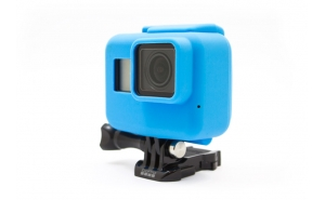 GoCamera Bumper Blue per GoPro HERO7/6/5 Black e HERO The Frame