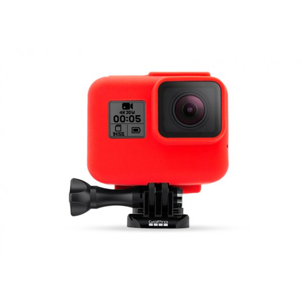 GoCamera Bumper Red per GoPro HERO7/6/5 Black e HERO The Frame