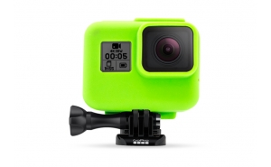 GoCamera Bumper Green per GoPro HERO7/6/5 Black e HERO The Frame