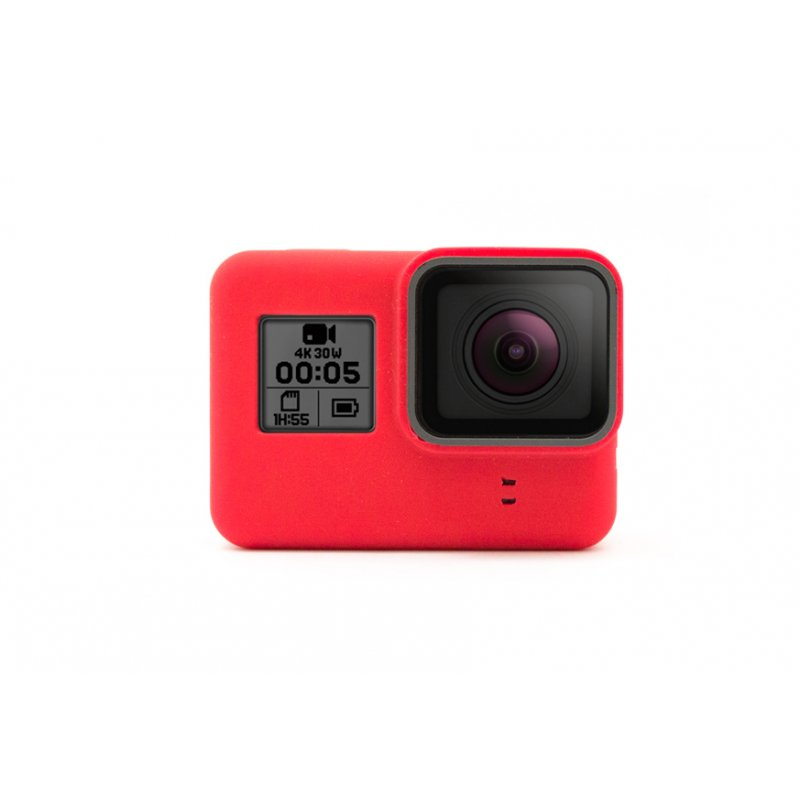 GoCamera Bumper Red per GoPro HERO7/6/5 Black e HERO 2018 Naked