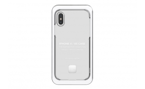 Happy Plugs Cover per iPhone X/XS - Transparent
