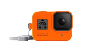 GoPro Sleeve guaina in silicone per HERO8 Black - Hyper Orange
