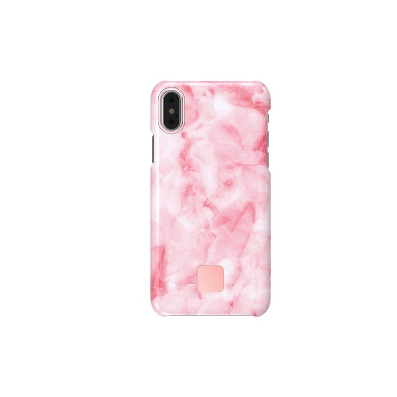 Happy Plugs Wireless II + Cover iPhone X/XS - Pink Gold