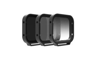 PolarPro Venture Filter 3-Pack GoPro HERO7/6/5 Black e HERO 2018