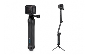 GoPro 3-Way Treppiede, Maniglia e Camera Arm