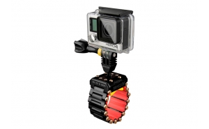 iSHOXS Hell Rider supporto tubolare a maglie per GoPro