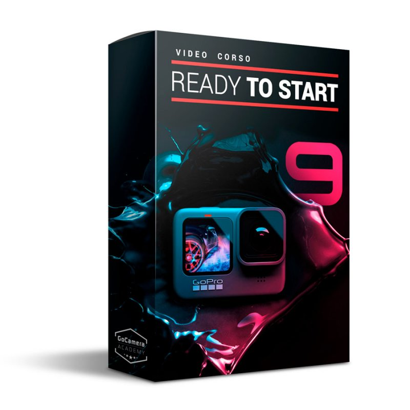 Video Corso GoPro HERO9 Black - Ready To Start