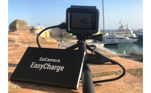 GoCamera EasyCharge powerbank per GoPro e smartphone