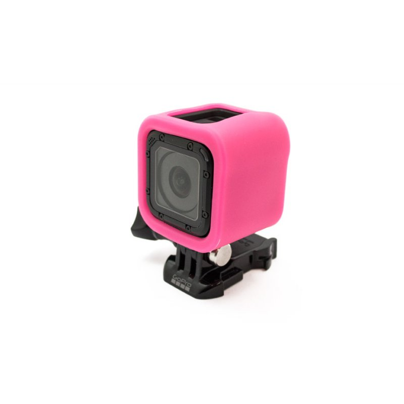 GoCamera Bumper Cover Kit Pink per GoPro Session