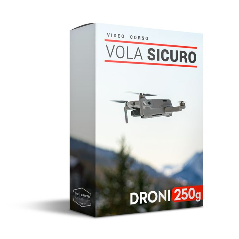 Video corso VolaSicuro DJI Mini 2, Mavic Mini e Droni 250 gr