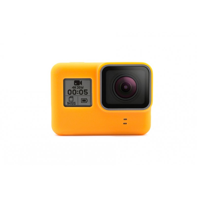 GoCamera Bumper Orange per GoPro HERO7/6/5 Black/HERO 2018 Naked
