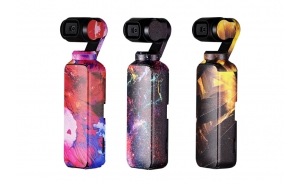 PGYTECH 3-Pack Adesivi per DJI Osmo Pocket - Colorful