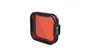 GoPro Filtro Rosso per HERO7/6/5 Black e HERO con SuperSuit