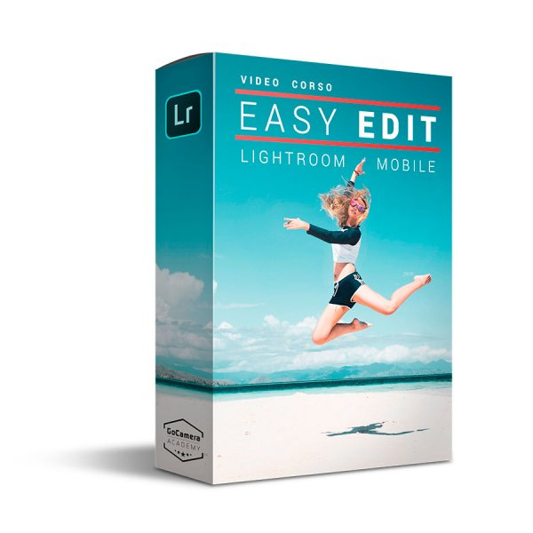 Video Corso Lightroom Mobile Easy Edit