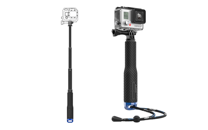 SP Action Bundle Pack con Valigia e Asta per GoPro