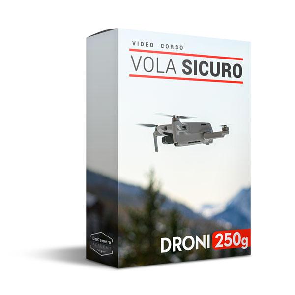 video corso vola sicuro droni 250 grammi