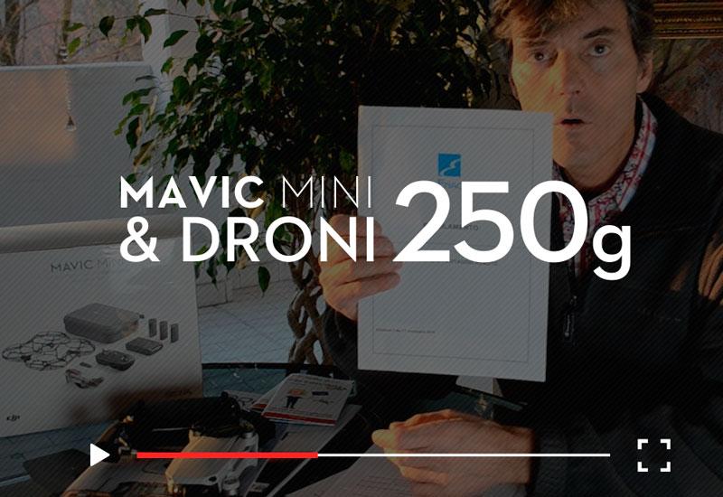 video corso droni 250 grammi