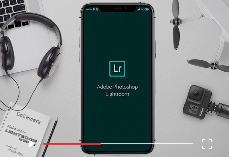 video corso lightroom mobile