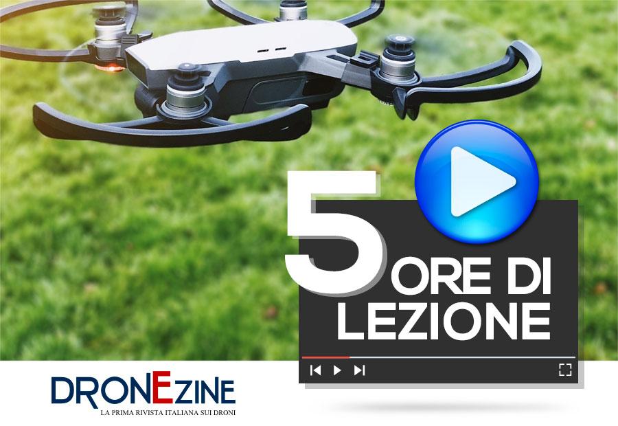 videocorso droni trecentino