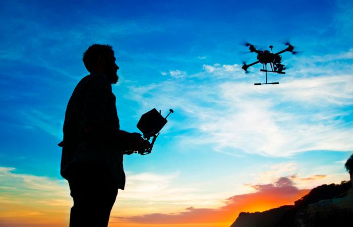 tecniche volo droni gopro