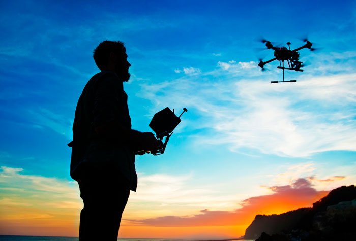 corsi droni riprese video