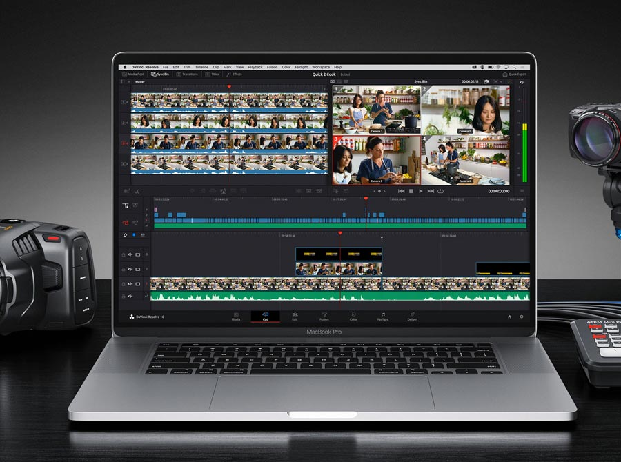 corso video editing davinci resolve