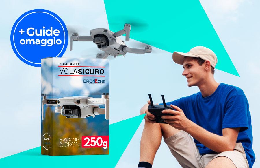 Video Corso VolaSicuro Mavic Mini e Droni 250g