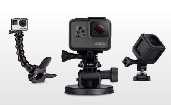 I migliori attacchi, supporti e accessori per GoPro