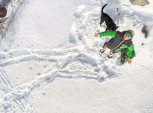 Birdie Supporto Paracadute per GoPro