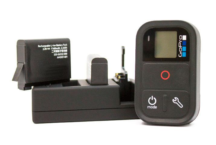 carica batterie hero4 e smart remote