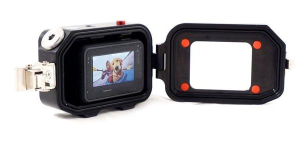 Case per GoPro HERO5 Black in Alluminio Subacqueo 250m