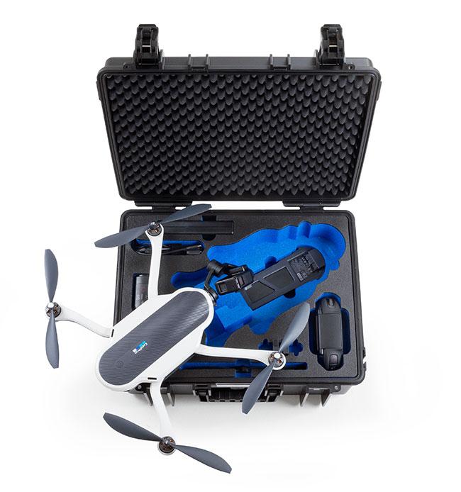 case trasporto gopro karma drone